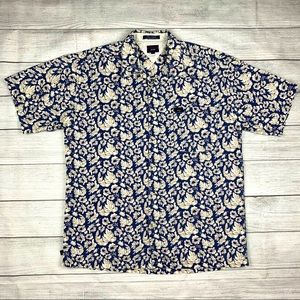 Vintage Tommy Jeans Button Down Hawaiian Shirt